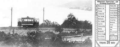 il tram di Abbazia Opatija Laurana Lovran