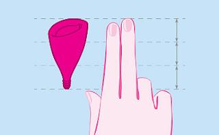 La Lilycup classica è adatta solo a donne con la cervice a 3 o più falangi