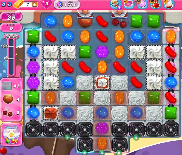 Candy Crush Saga 1731