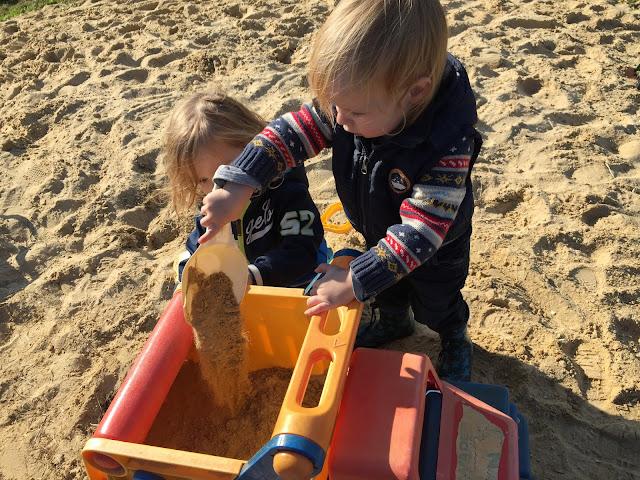 Kugelfisch-Blog - Auf dem Sandhaufen