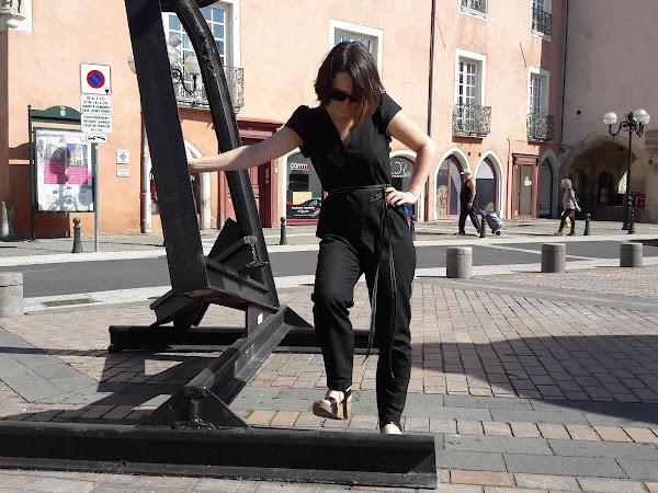 Combi-pantalon Burda- Projet capsule de mai