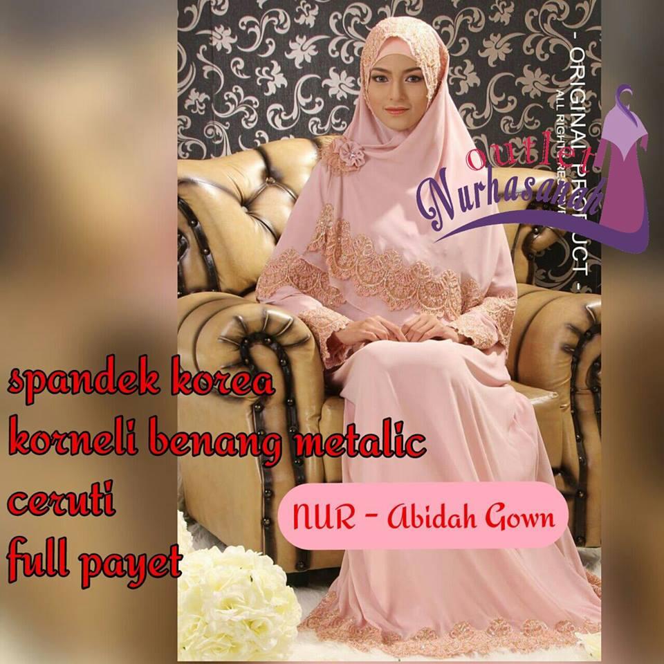 Baju kahwin muslimah www imgarcade com online image arcade - Outlet Nurhasanah Outlet Baju Pesta Keluarga Muslim