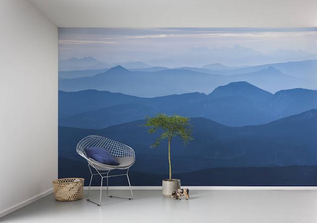 Pilttapeet Infinity Blue Mountain #6021A-VD4