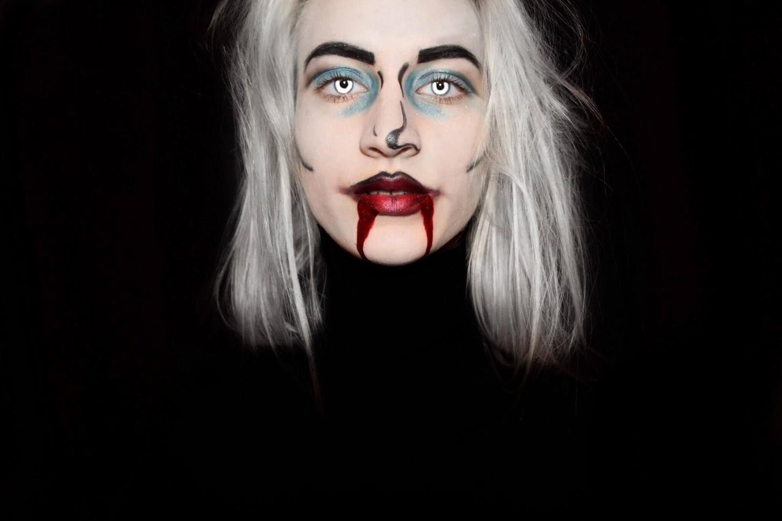 a2dd59212 bielu farbu na tvár / alebo make up a biely púder