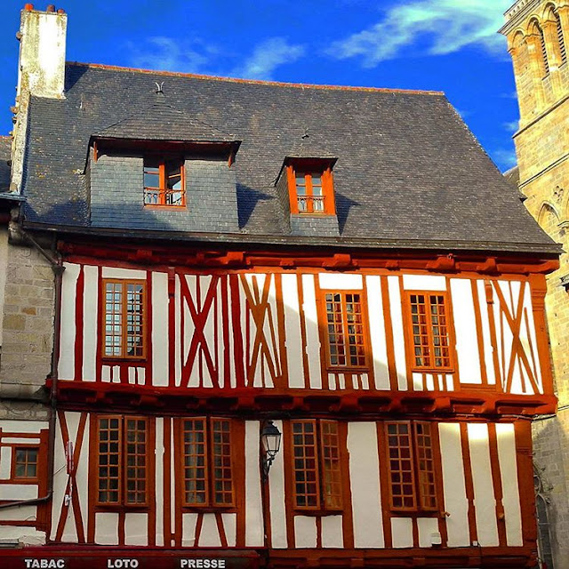 Amazing Wooden House in Vannes I Brittany I France I Travelling Hopper I