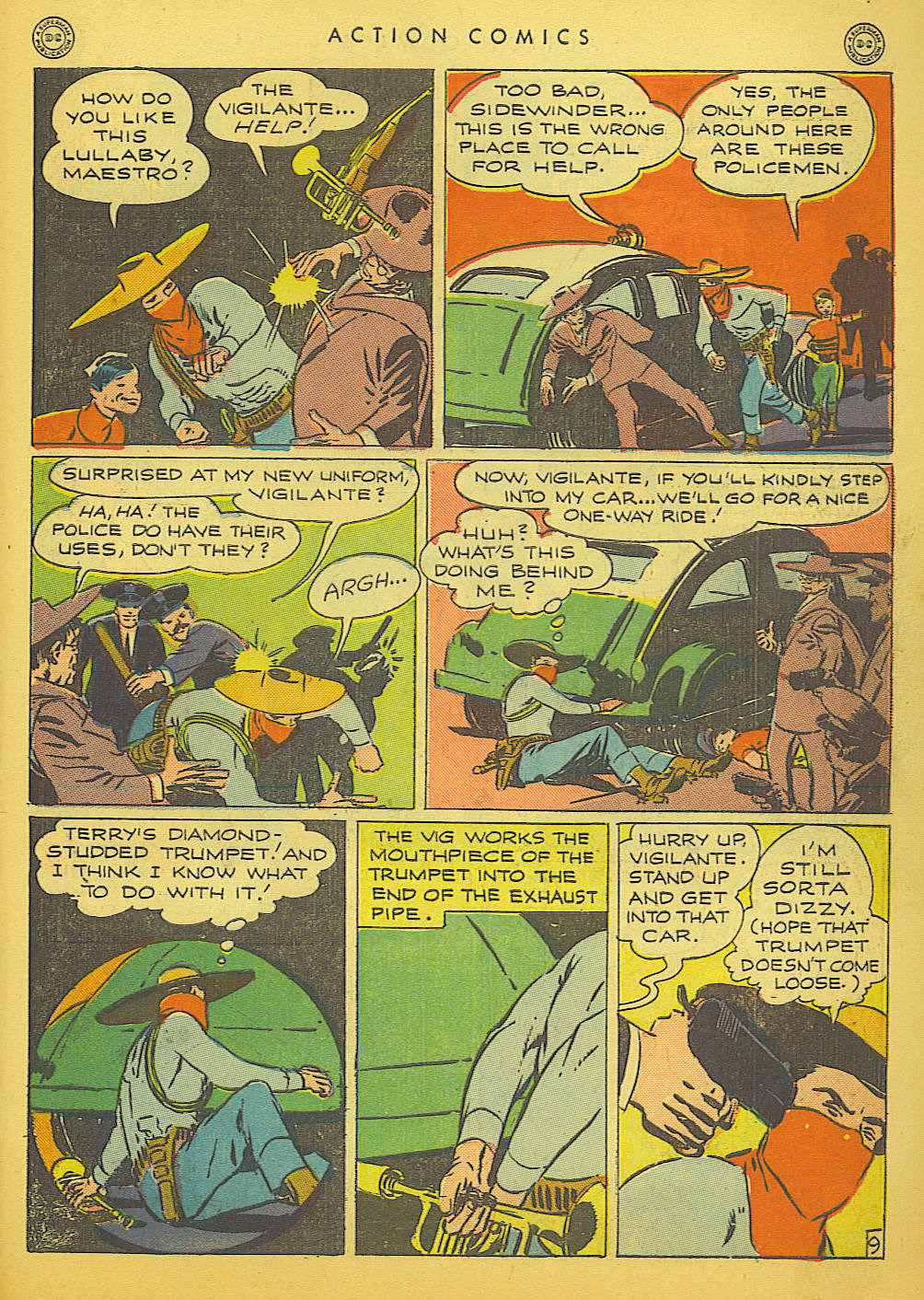 Read online Action Comics (1938) comic -  Issue #91 - 39
