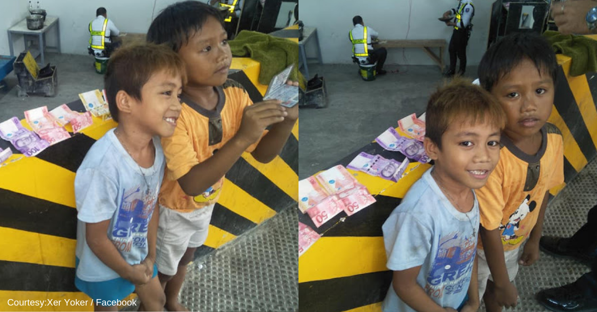 Street Kids Find Wallet, Go Viral for Not Taking Any Money Inside