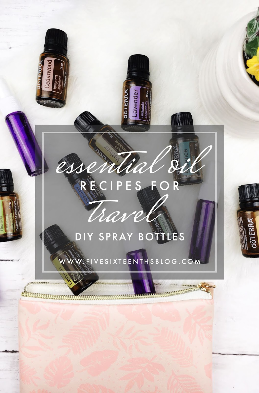 five sixteenths blog: Make it Monday // DIY Essential Oil Recipes