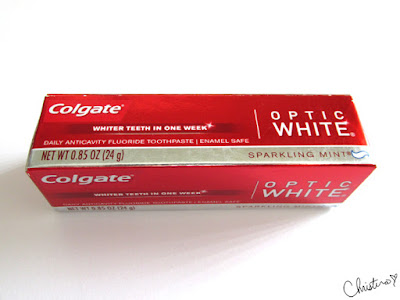 Influenster MegaVoxBox Colgate Optic White Sparkling Mint
