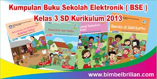 Kumpulan Buku Sekolah Elektronik ( BSE ) Kelas 3 SD Kurikulum 2013