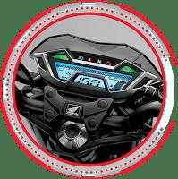 New Futuristic Full Digital Panelmeter HONDA CB150R SPESIAL EDITION 2018 Anisa Naga Mas Motor Klaten Dealer Asli Resmi Astra Honda Motor Klaten Boyolali Solo Jogja Wonogiri Sragen Karanganyar Magelang Jawa Tengah.