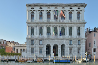 The Palazzo Corner della Ca'Grande was the first building in Venice designed by Sansovino