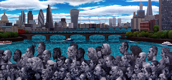 Waterloo Bridge, London (2018) by Carl Randall