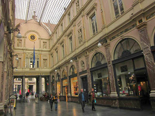 Galleries Saint Hubert in Brussels