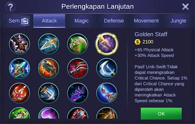 Golden Staff Mobile Legends