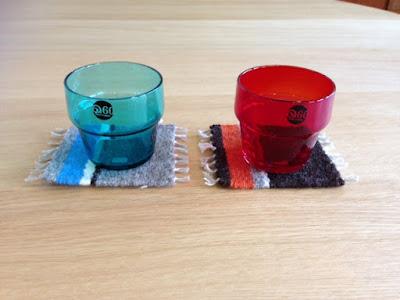 手織りコースター アデリア60ダッシュ グラス