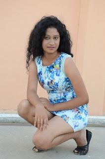 Actress Priyankha Stills in Floral Short Dress at Golmal Gullu Movie Pressmeet 0310.JPG
