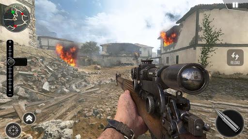 تحميل لعبة World War 2 Battleground Survival v1.0.3 مهكرة وكاملة للاندرويد اخر اصدار