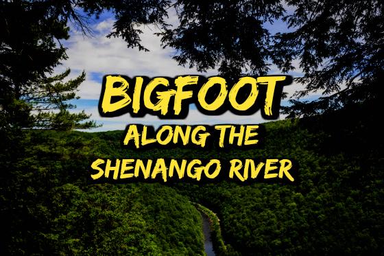 Bigfoot Along The Shenango River