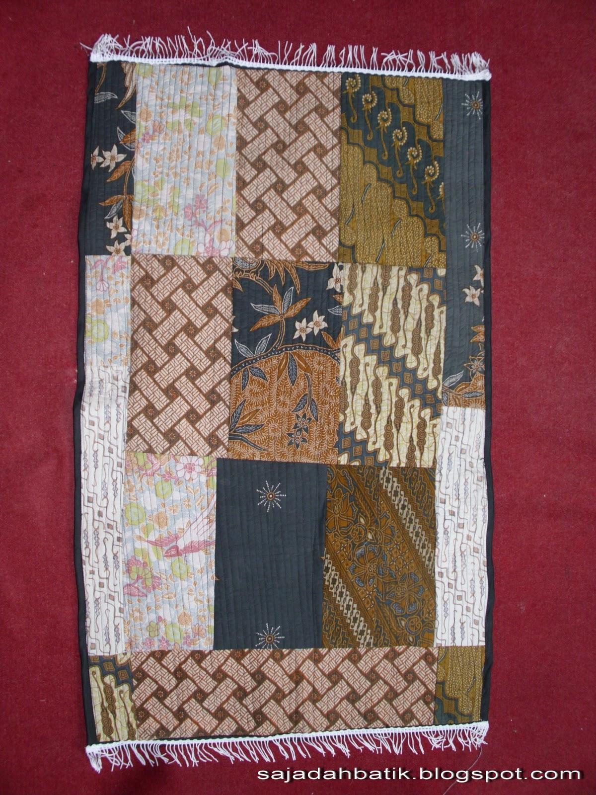 aksesoris batik gaul khas Jogja Sajadah Batik