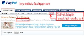 Setting Pembayaran Paypal Ke Bank BRI, BCA, BNI, Dan Mandiri
