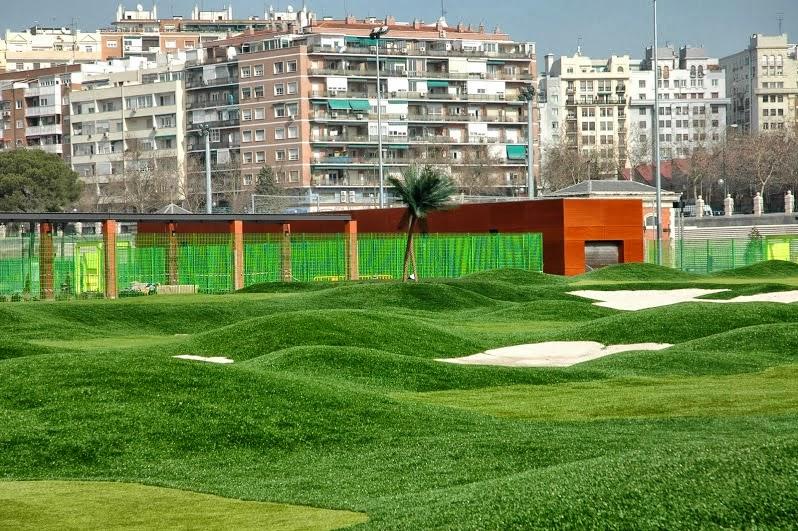 césped artificial golf