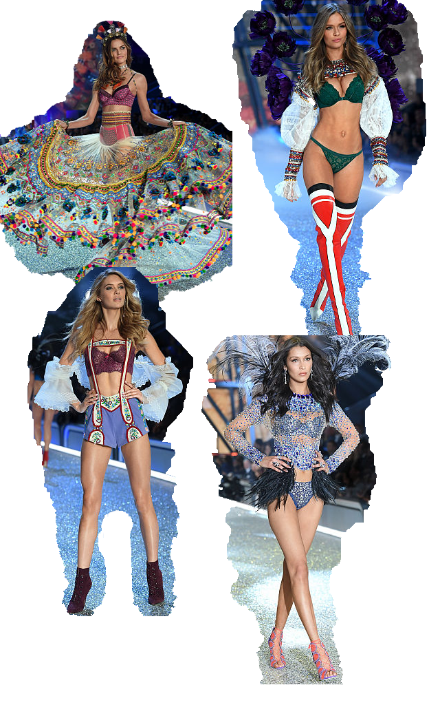 4 tendências presentes no Victoria's Secret Fashion Show 2016