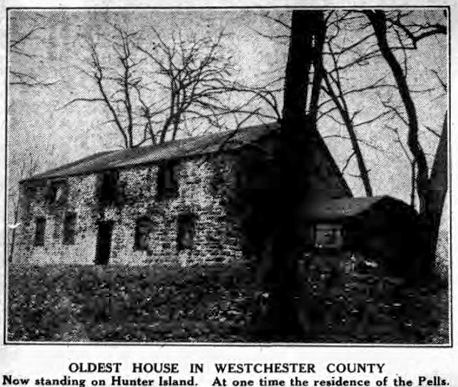 Historic Pelham: The Old Stone House That Stood On Hunter