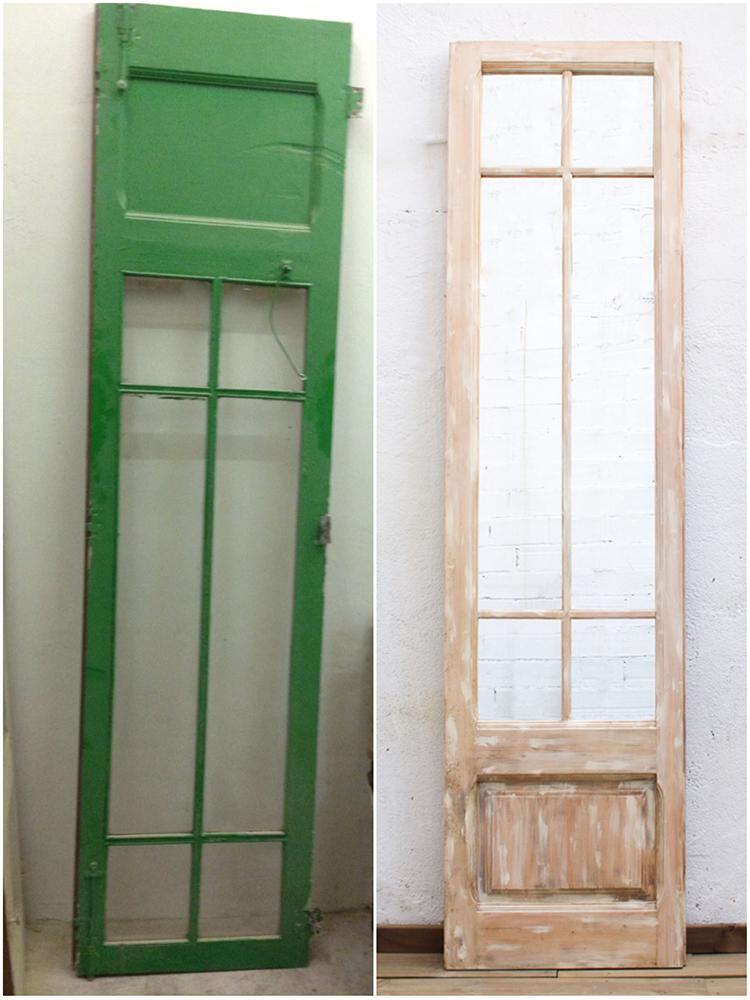 Antes y después - puerta - Studio Alis