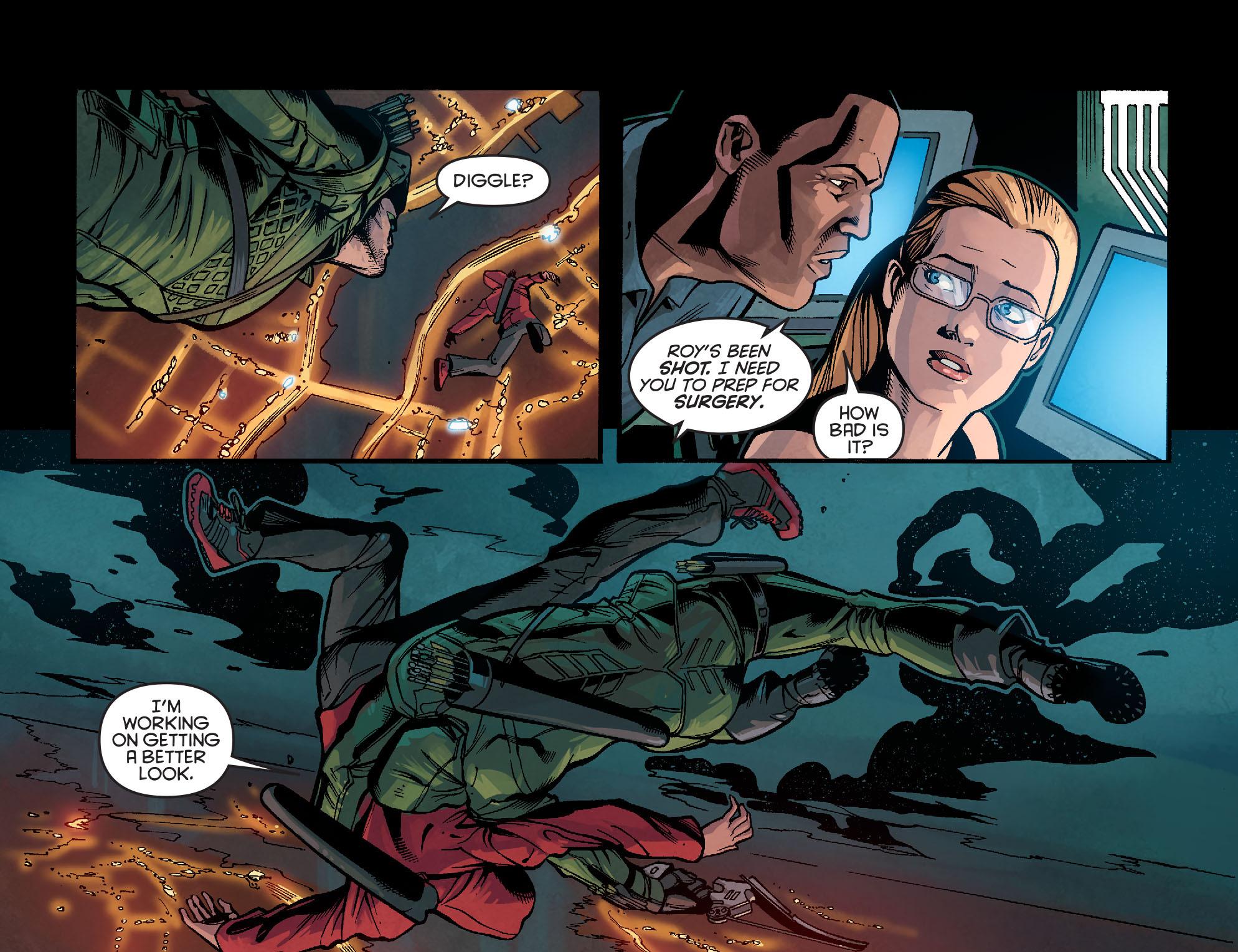 Read online Arrow: Season 2.5 [I] comic -  Issue #2 - 5