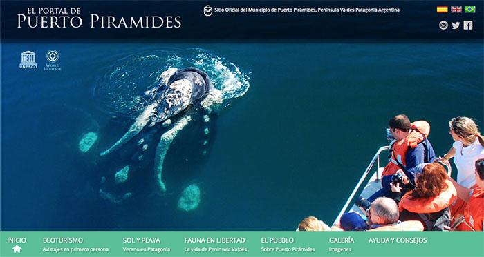 Lanzamiento temporada de avistases de ballenas en Puerto Piramides