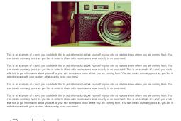 Blogger yayınlarınızın altına imza  eklentisi