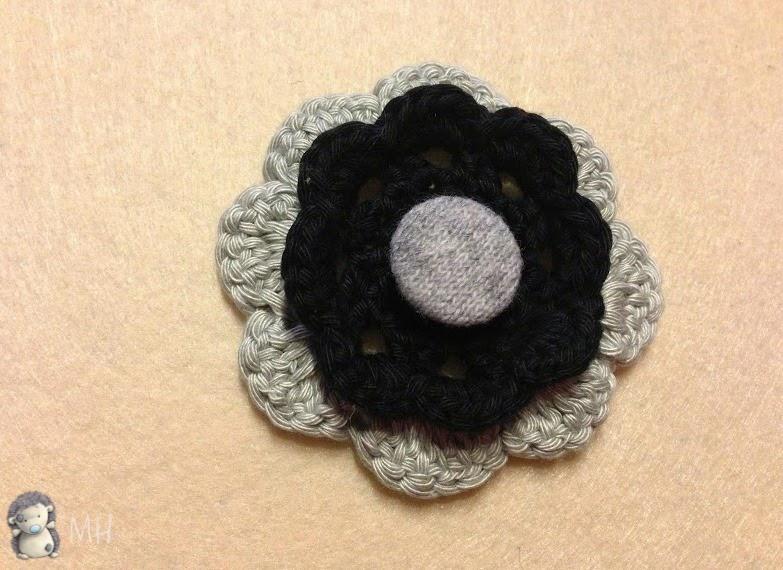 Flor para sombrero