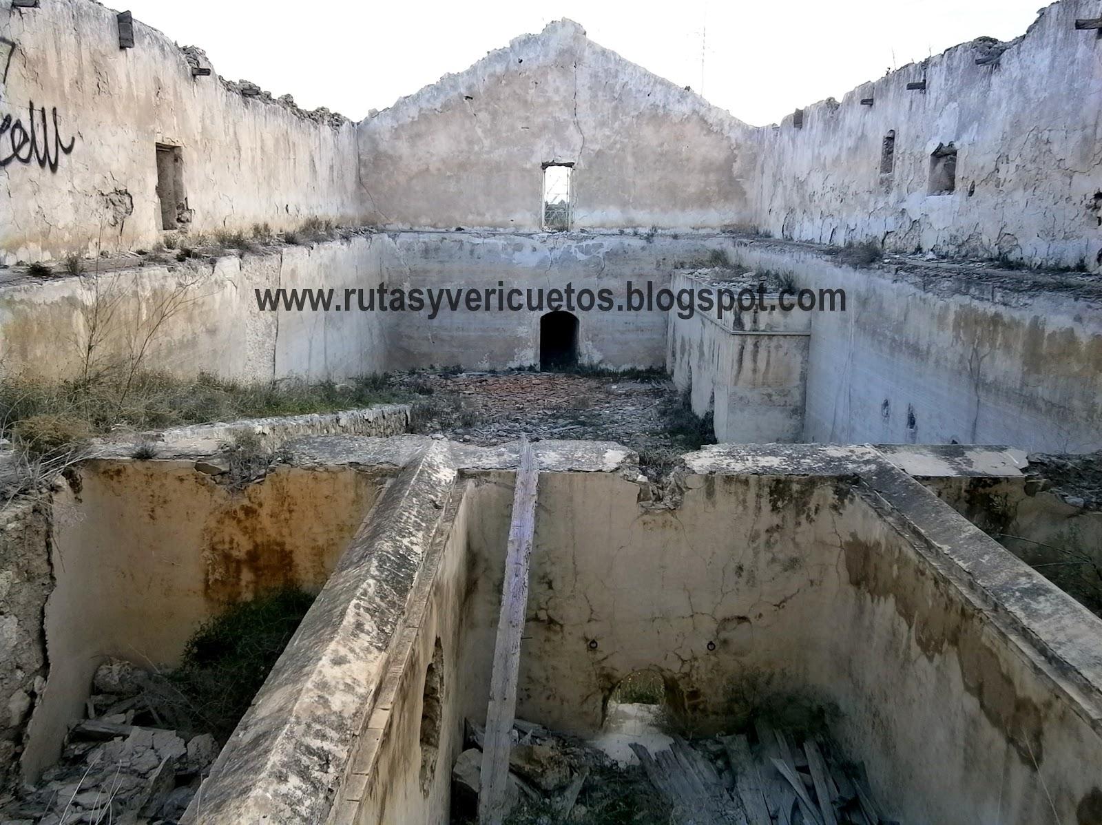 Depósito de aguas de La Alcoraya