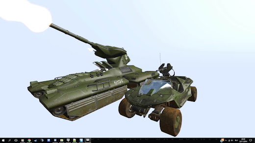 Arma3用HALO MODの主力戦車の M808B