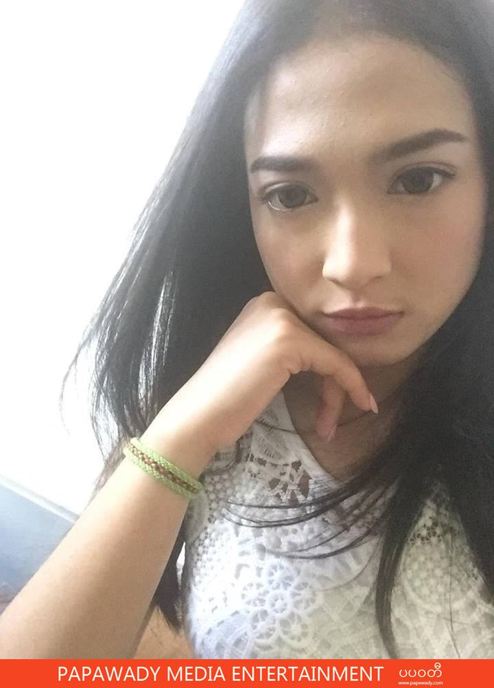 San Yati Moe Myint Collection Photos of Selfies and Behind The Scenes From Shooting for May