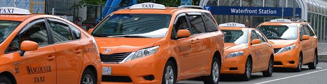Táxi em Vancouver