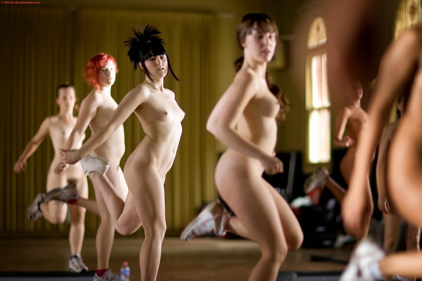 Naked Female Aerobics 72