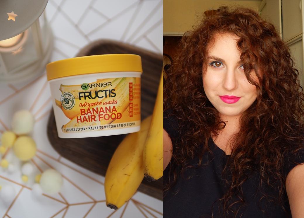 Siano, siano widzę... czyli jak skutecznie zamordować swoje włosy... + szybkim okiem na maskę Garnier Banana Hair Food