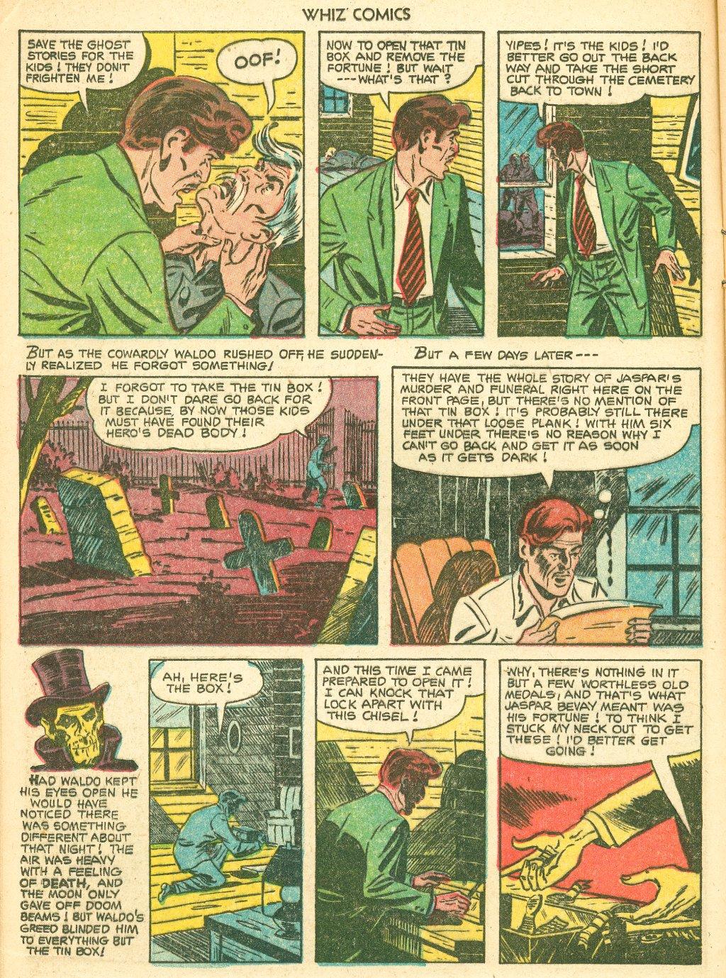 WHIZ Comics #155 #156 - English 12