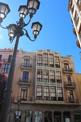 Edificio modernista de Zamora
