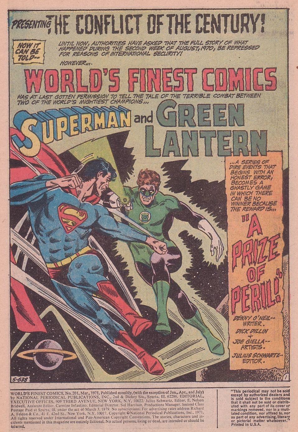 Read online World's Finest Comics comic -  Issue #201 - 3