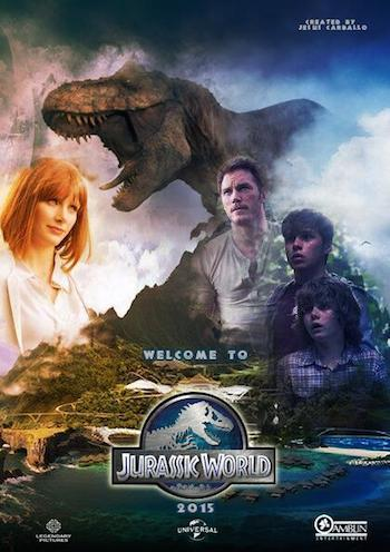 Jurassic World (2015) Dual Audio 720p BluRay