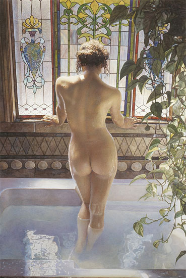 Steve Hanks 1949 | American Watercolor painter