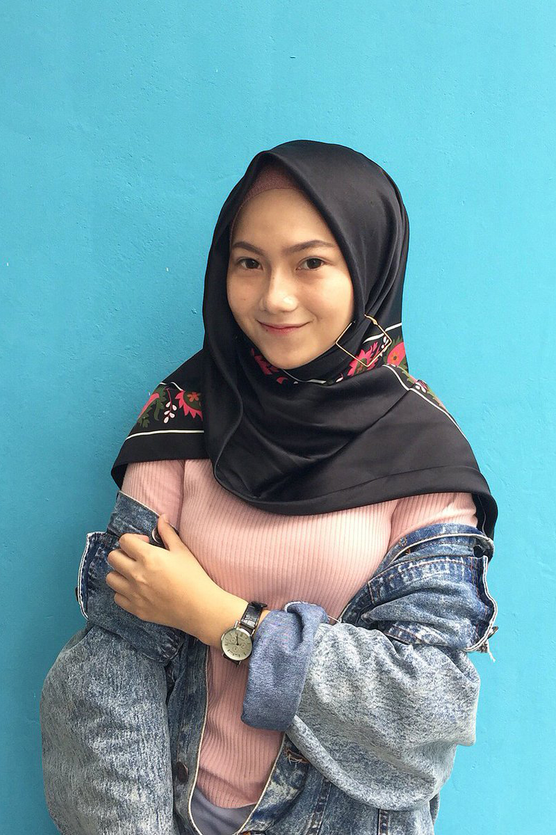 Cewek IGO jilbab Cantik afra cubby manis