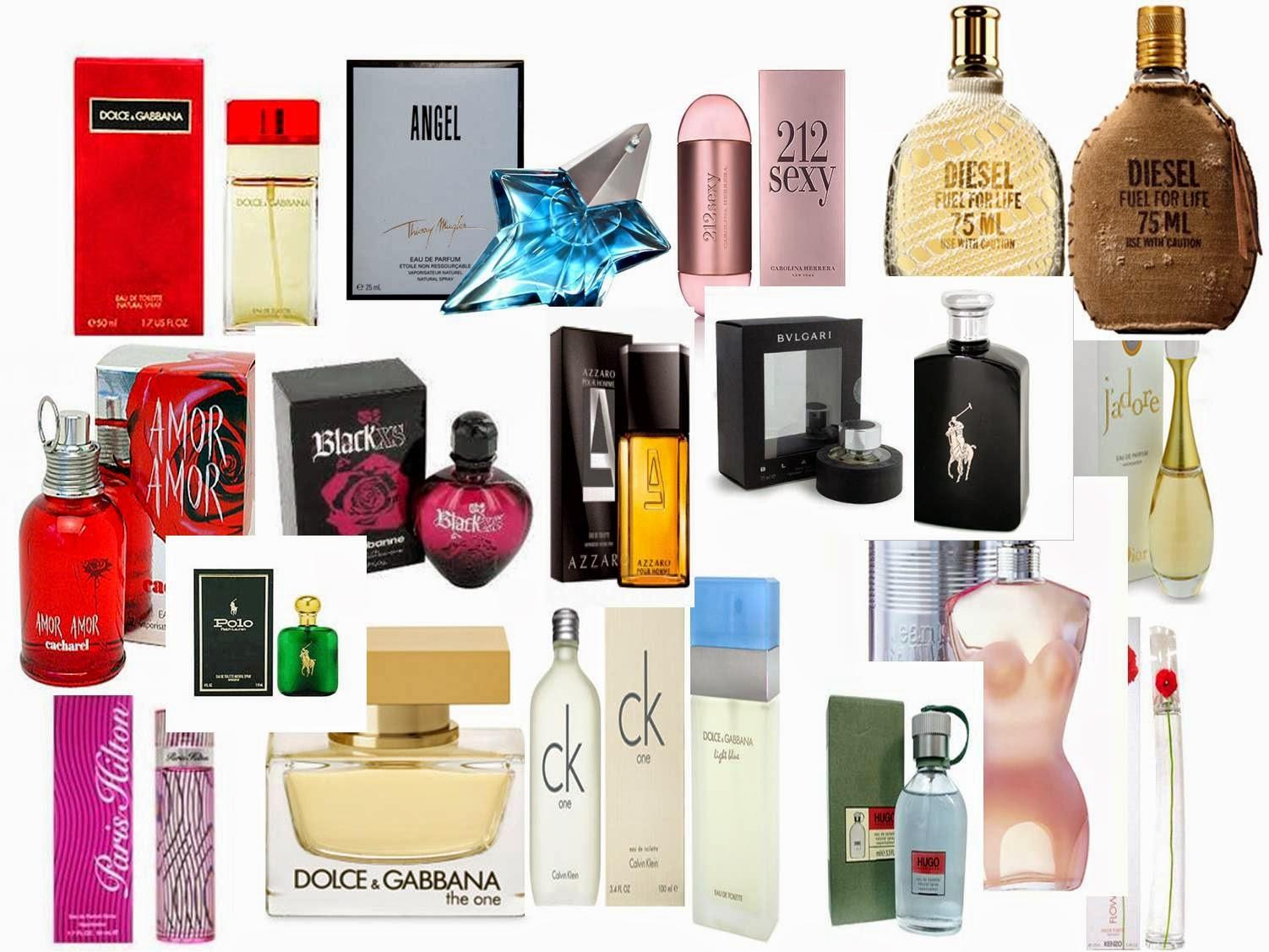 #Perfumes e Fragrâncias