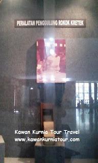 isi dalam museum kretek kudus