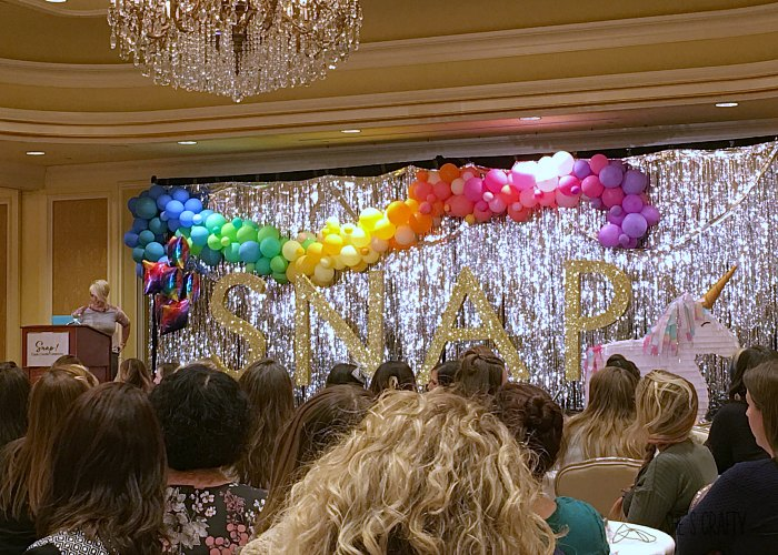 Snap Conference, key note speaker, Heidi Swapp
