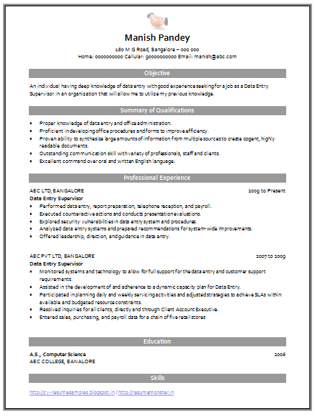 Over 10000 CV And Resume Samples With Free Download Data