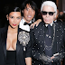 Karl Lagerfeld reacts to Kim K's robbery incident...kinda blames her